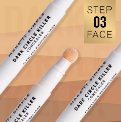 DARK CIRCLE KILLER / Concealer – Sponge applicator