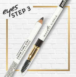 Show Time 2 in 1 / Eyeliner & Eyebrow